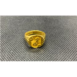 22K LADIES RING WITH ASIAN CHARACTERS RV 775.00