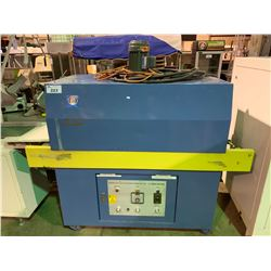 BLUE INFRARED AIR FLOW MOBILE SHRINK WRAPPER TUNNEL MACHINE