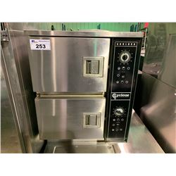 GARLAND CYCLONE CC2 STAINLESS STEEL COMMERCIAL STEAM CABINET WITH MULTI UNIT STEAM GENERATOR