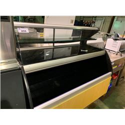 ARCTICA SHOWCASE B-HP-57-R3-00-L3-CC BLACK / MAPLE GLASS 3 TIER COOLED DELI DISPLAY CASE