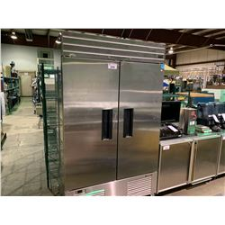 HABCO SE46SA DUAL DOOR MOBILE STAINLESS STEEL REACH IN COOLER