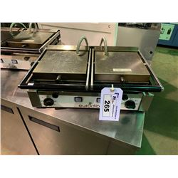 EURODIB PDR E DUAL SURFACE STAINLESS STEEL PANINI PRESS