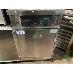 WINSTON INDUSTRIES STAINLESS STEEL COMMERCIAL MOBILE HOLDING & PROOFING CABINET