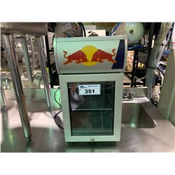 RED BULL RBI-BC2 SINGLE DOOR GLASS FRONT BABY COOLER