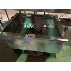 """DELFIELD N8130B 31"""" X 26"""" TWO PAN DROP IN REFRIGERATED COLD FOOD WELL"""