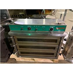 DOYON PIZ-3 STAINLESS STEEL 3 BAY COMMERCIAL JET AIR PIZZA OVEN