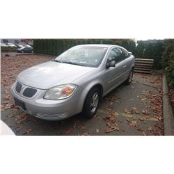 2006 PONTIAC PURSUIT, 2DRCP, GREY, GAS, AUTOMATIC, VIN#1G2AJ15F367766989, 218,848KMS *MUST TOW,