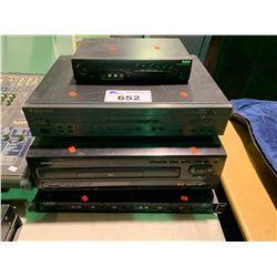 YORKVILLE TX4P ANALOG SIGNAL PROCESSING SYSTEM, DENON PRECISION AUDIO COMPONENT / MULTI LASER DISC