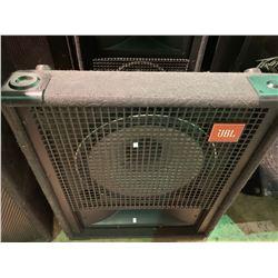 PAIR OF JBL SR4725A SERIES PROFESSIONAL LOUD SPEAKERS & JBL SR4704 MONITOR SPEAKER