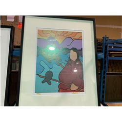 PAIR OF JOSEPH LIMITED EDITION FRAMED ARTWORK