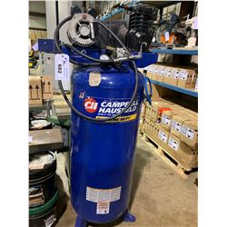 CAMPBELL HAUSFELD EXTREME DUTY MODEL VT627504AJ 7HP 60 GALLON 135 MAXIMUM PSI 230V COMPRESSOR
