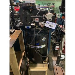 MOBILE INDUSTRIAL AIR 30 GALLON 155PSI 120V COMPRESSOR