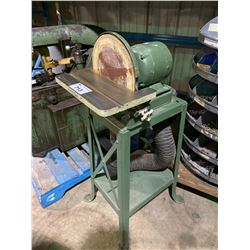 "GREEN INDUSTRIAL 12"" ORBITAL SANDER"
