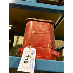 RED PROTECTO SEAL OILY WASTE BIN