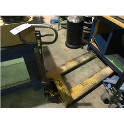 YELLOW LIFTRIGHT 5000LBS CAPACITY PALLET JACK