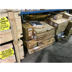 PALLET OF ASSORTED HEAVY DUTY VENTS & ELECTRICAL PRODUCT