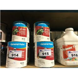 7 5GALLON PALES OF GENERAL PAINT WOOD FLOOR BASE COAT