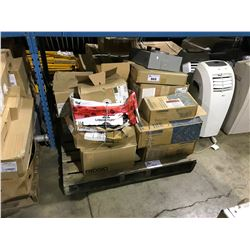 PALLET OF ASSORTED HEAVY DUTY ELECTRICAL PRODUCT