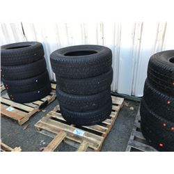 SET OF 4 MICHELIN LT 265-70R18 VEHICLE TIRES