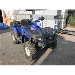 2007 POLARIS SPORTMAN XZ500, BLUE, QUAD, GAS, AUTOMATIC, VIN#4XATN50A47A201299, 2,641HOURS, AW,4W,