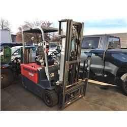 TAILIFT FBT 18 TYPE E 2220LBS 3 STAGE ELECTRIC FORKLIFT WITH BELGIUM ENERGIC PLUS AUTO FORKLIFT