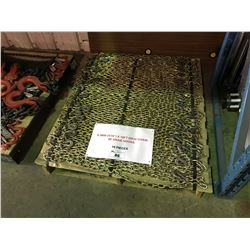 """PALLET OF 16 LENGTHS OF 8.5MM ( 5/16"""" ) 16' GR30 CHAINS WITH GRAB HOOKS"""