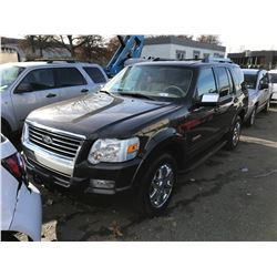 2006 FORD EXPLORER, GREY, 4DRSW, GAS, AUTOMATIC, VIN#1FMEU75846UA84855, 234,747KMS,