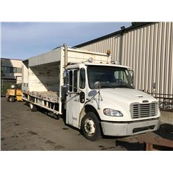 2008 FREIGHTLINER RECYCLING TRUCK, WHITE, DIESEL, AUTOMATIC, VIN#1FVACXDJ68HZ06713, 143,606KMS, RD,