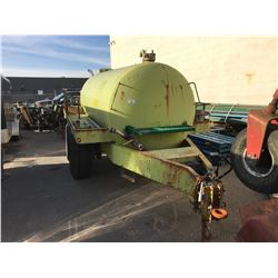 1995 LOWEN TANK TRAILER, GREEN, HEAVY DUTY LIQUID HAULER, VIN#15880122894, OOP, NO ICBC