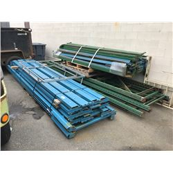3 PALLETS OF ASSORTED INDUSTRIAL PALLET RACKING