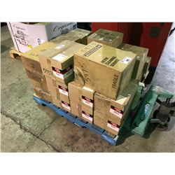 PALLET OF ASSORTED BALDWIN FILTERS AND PARTS