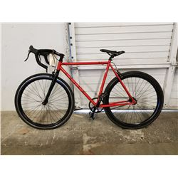 RED ARIES ROAD BIKE