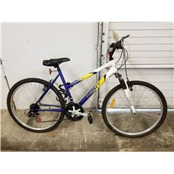 BLUE/WHITE/YELLOW NEXT LASER DX MOUNTAIN BIKE