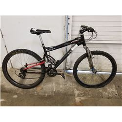 BLACK CCM STATIC DUAL XC MOUNTAIN BIKE