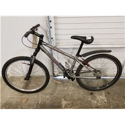 BLACK/GREY SPECIALIZED MOUNTAIN BIKE