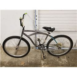 GREY HUFFY ROAD BIKE