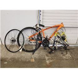 ORANGE RALEIGH MISCEO 2.0 BIKE FRAME