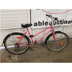 PINK PRO TOUR ROAD BIKE