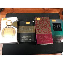 4 ASSORTED GENERIC IMPRESSIONS OF COLOGNES / PERFUMES