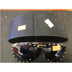 LOUIS VUITTON SUNGLASSES WITH PRADA CASE (AUTHENTICITY NOT VERIFIED - SEIZED STORAGE)