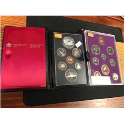 1981 CANADIAN PROOF SET & 1970 COINAGE OF GREAT BRITAIN