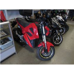 RED MOTORINO ELECTRIC BIKE (NO KEY OR CHARGER)