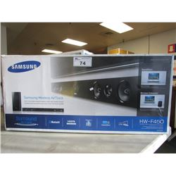 SAMSUNG HW-F450 SOUNDBAR & SUBWOOFER
