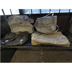 LOT OF APPROX 4 PURSES (AUTHENTICITY UNKNOWN, BAILIFF SEIZURE)