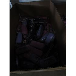 LARGE BOX OF APPROX 200 NEW ASSORTED CASES FOR GLASSES/SUNGLASSES