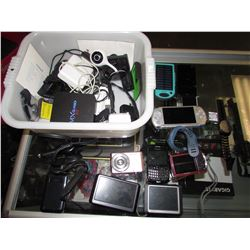 ANDROID TV BOXES, GARMIN GPS SYSTEMS, GPS WATCHES, DIGITAL CAMERAS, PSP, SECURITY CAMERA, PORTABLE