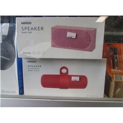 NEW MINISO WIRELESS SPEAKERS MODELS D39F & DS-2076