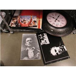 POSTERS & WALL CLOCK