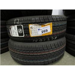 2 NEW CONTINENTAL 4X4 CONTACT 235/65R17 XL 108V TIRES ($5 ECO FEE CHARGE PER TIRE)