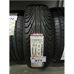 NEW GENERAL TIRES 215/65R16 98H TIRE ($5 ECO FEE CHARGE PER TIRE)